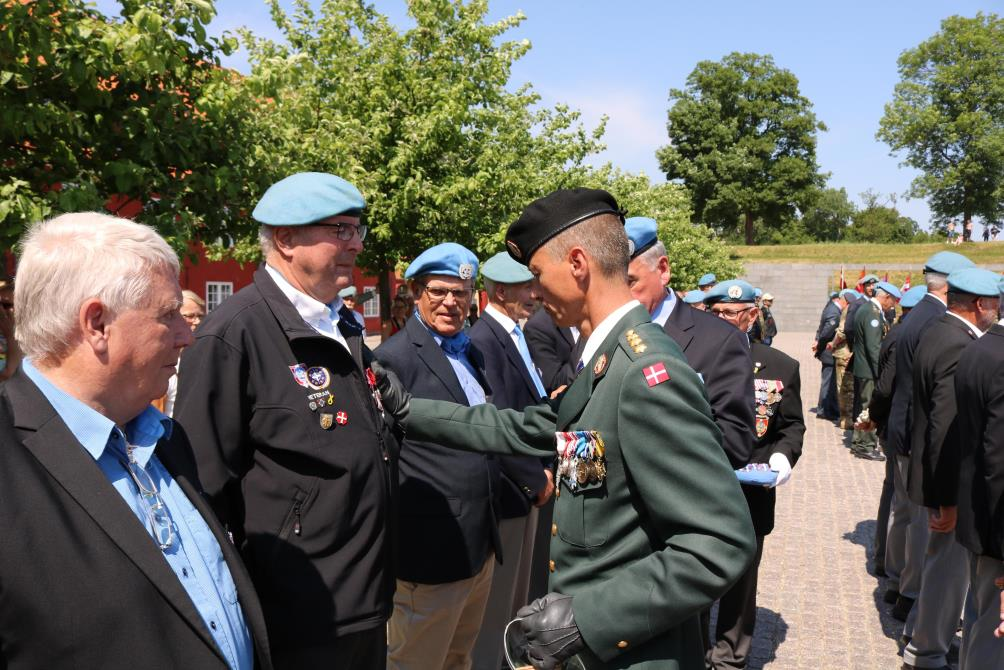 2018-05-29 Peacekeepers Dag på Kastellet