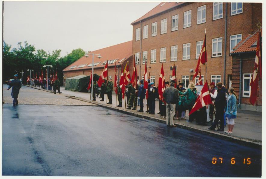2006-07-15 Faneindvielse på Ringsted Kaserne