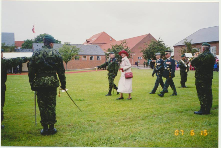 2007-06-15 Faneindvielse på Ringsted Kaserne