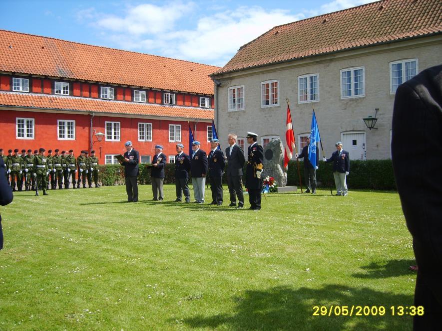 2009-05-29 Peacekeepers Dag på Kastellet