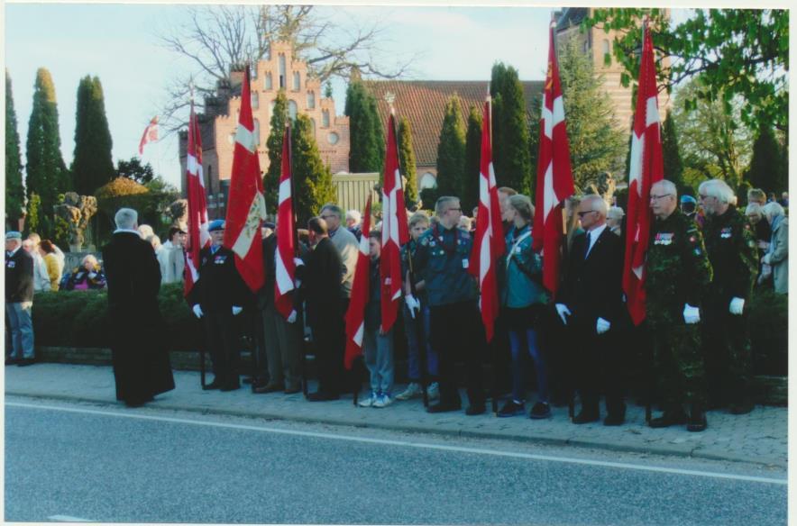 2015-05-04, 70 året for befrielsen i Borup