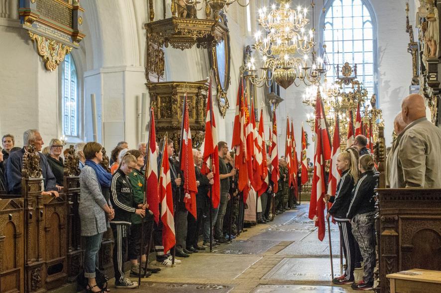 2016-06-15 Valdemarsdagen i Køge Kirke